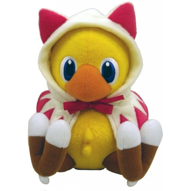 Final Fantasy Stuffed Plush Doll: Mysterious Dungeon Chocobo White Mage