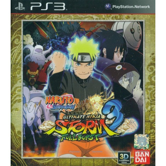 Naruto Shippuden: Ultimate Ninja Storm 3 Full Burst (English & Japanese Version)