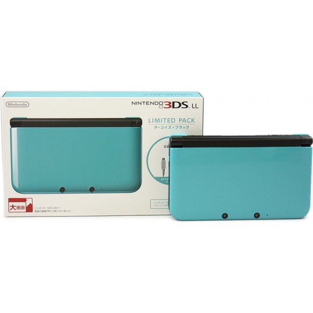 Nintendo 3DS LL Limited Pack (Turquoise x Black)