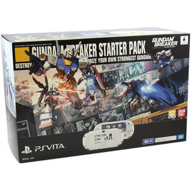 PS Vita PlayStation Vita New Slim Model - PCH-2006 (Gundam Breaker Starter Pack)