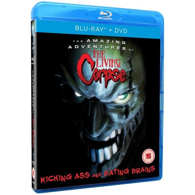The Amazing Adventures Of The Living Corpse [Blu-ray+DVD]