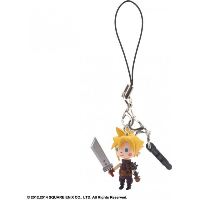 Square Enix Theatrhythm Final Fantasy Mascot Strap Vol.2: Cloud Strife