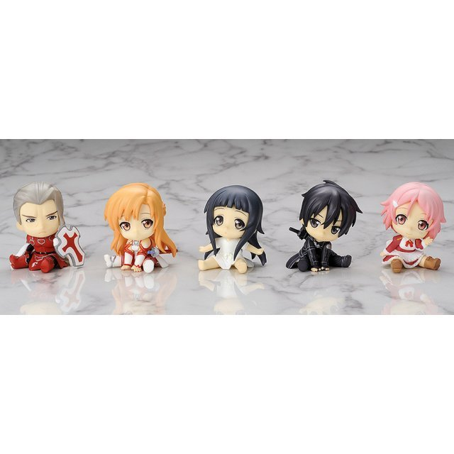 Petanko Mini! Sword Art Online Non Scale Pre-Painted Trading Figure (Set of 10 pieces)