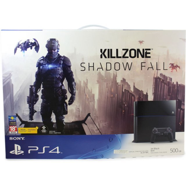 PlayStation 4 System - Killzone: Shadow Fall Limited Edition Bundle Set (Jet Black)