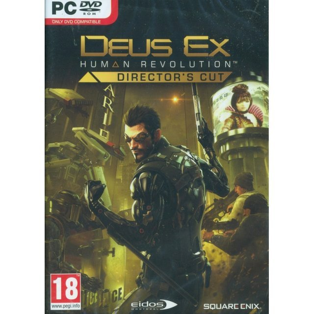 Deus Ex: Human Revolution - Director's Cut (DVD-ROM)