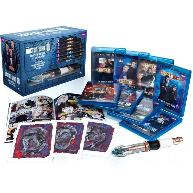 Doctor Who: Series 1-7 Limited Edition [Limited Edition Giftset+Sonic Screwdriver Universal Remote]