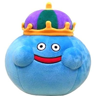 Dragon Quest Smile Slime Plush Doll: King Slime Large