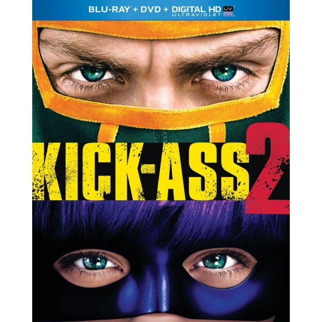 Kick-Ass 2 [Blu-ray+DVD+Digital HD UltraViolet]