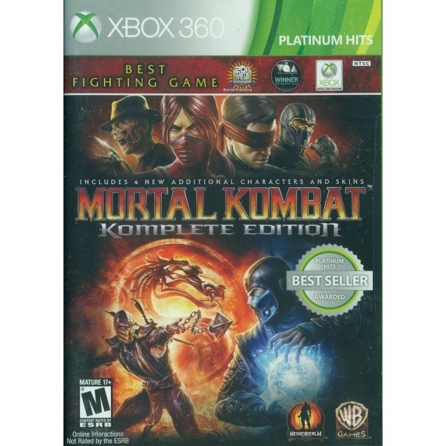 Mortal Kombat Komplete Edition (Platinum Hits)