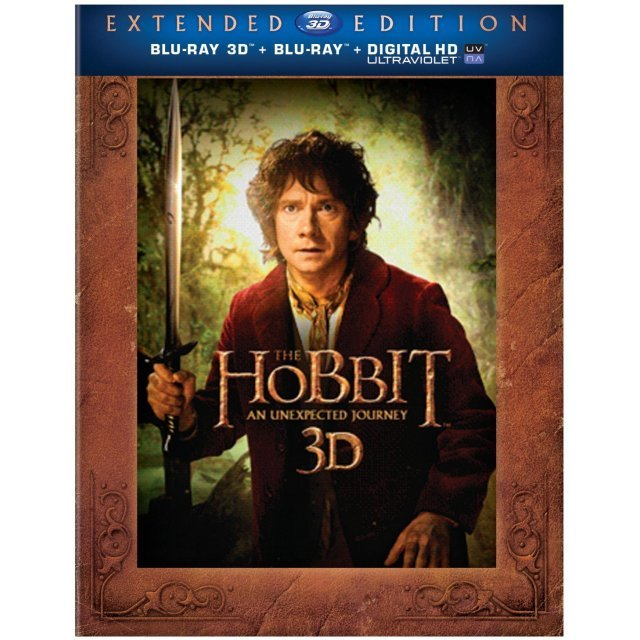 The Hobbit: An Unexpected Journey [Extended Edition+Blu-ray 3D+Blu-ray+UltraViolet]