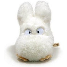 Tonari no Totoro Plush Doll: Small Totoro (Medium)