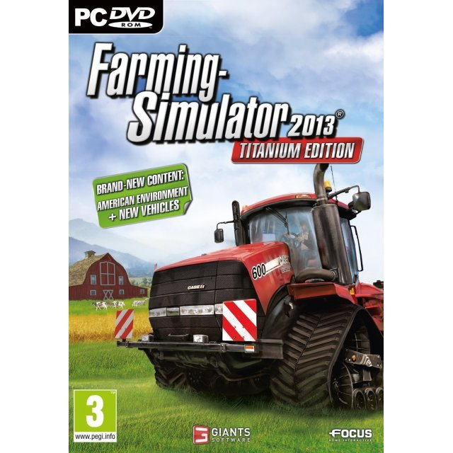 Farming Simulator 2013 (Titanium Edition) (DVD-ROM)