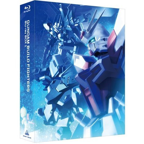 Gundam Build Fighters Blu-ray Box 1 Master Grade Edition [Limited Edition]