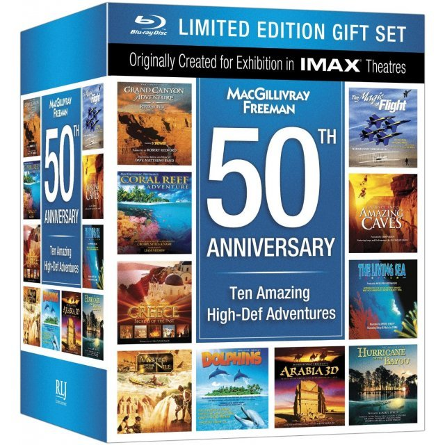 MacGillivray Freeman 50th Anniversary [Limited Edition Gift Set+Blu-ray]