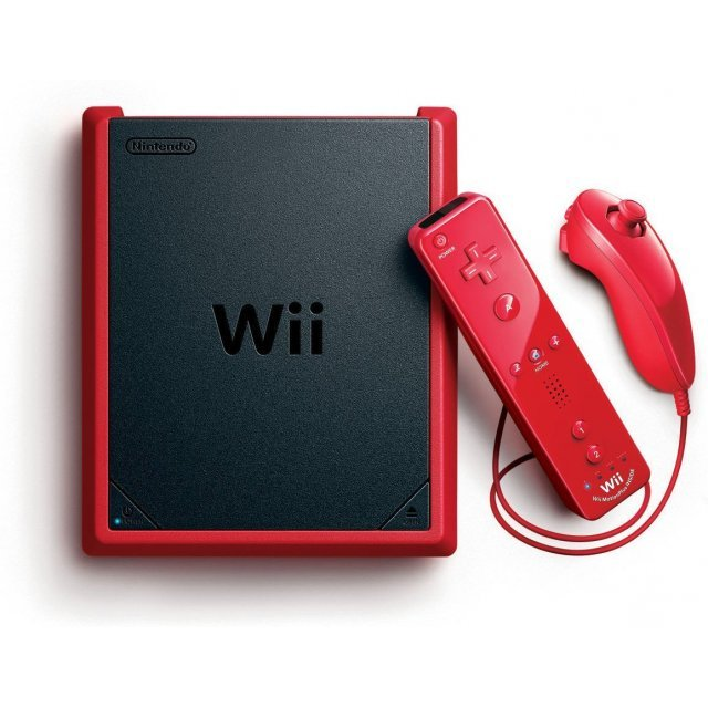 Nintendo Wii Mini (Red)