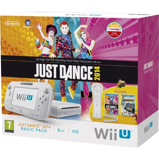 Nintendo Wii U - Just Dance 2014 Basic Pack (8GB White)