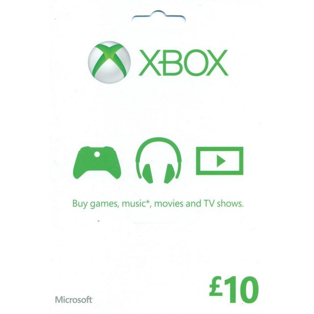 Xbox Gift Card (GBP 10)