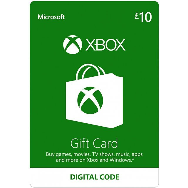 Xbox Gift Card GBP 10