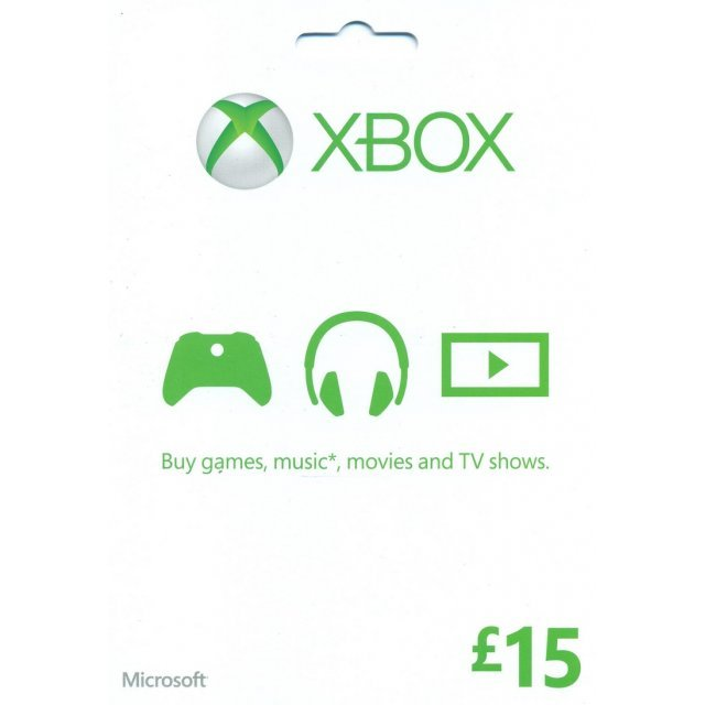 Xbox Gift Card (GBP 15)