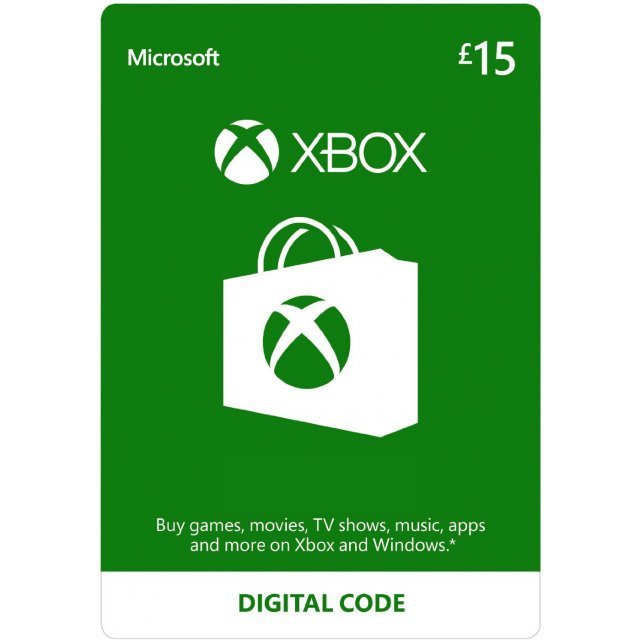 Xbox Gift Card GBP 15