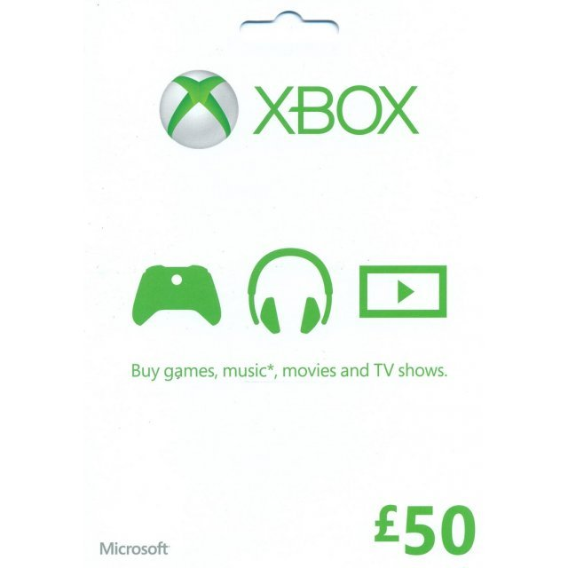 Xbox Gift Card (GBP 50)
