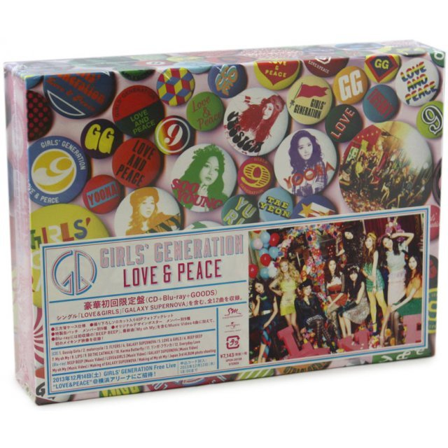 Love & Peace [CD+Blu-ray+Goods Limited Edition]
