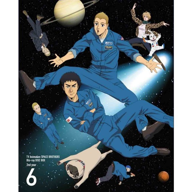 Space Brothers / Uchu Kyodai Blu-ray Disc Box 2nd Year Vol.6 [Limited Edition]