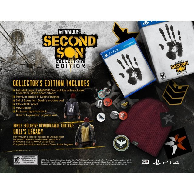Infamous: Second Son (Collector's Edition)