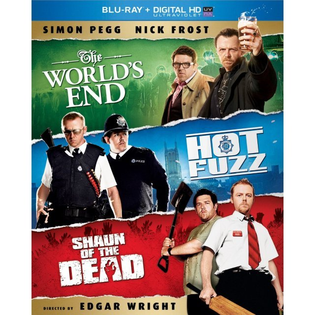 The World's End / Hot Fuzz / Shaun of the Dead [Blu-ray+Digital HD UltraViolet Copy]