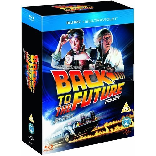 Back to the Future Trilogy [Blu-ray+UltraViolet]