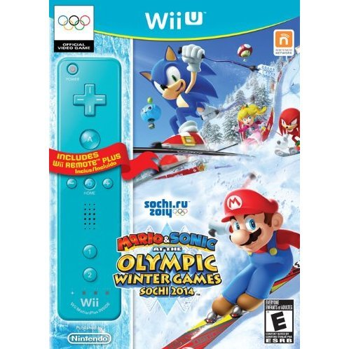 Mario & Sonic at the Sochi 2014 Olympic Winter Games (Wii Remote Bundle)