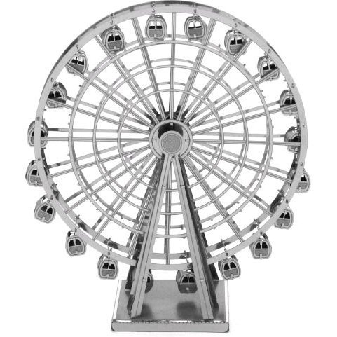 Metallic Nano Puzzle: Giant Ferris Wheel