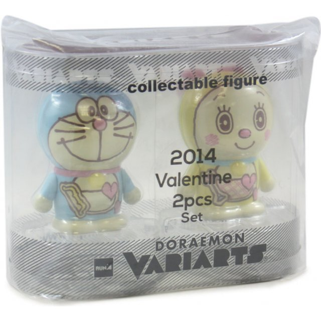 Variarts Doraemon 036 & 037 (2014 Doraemon's Valentine's Day 2 pcs. set edition)