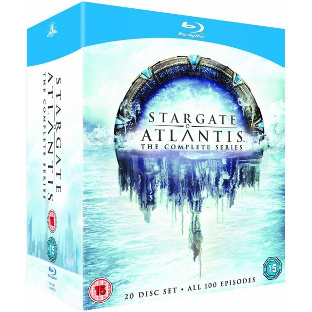 Stargate Atlantis: The Complete Series [20-Disc Set]
