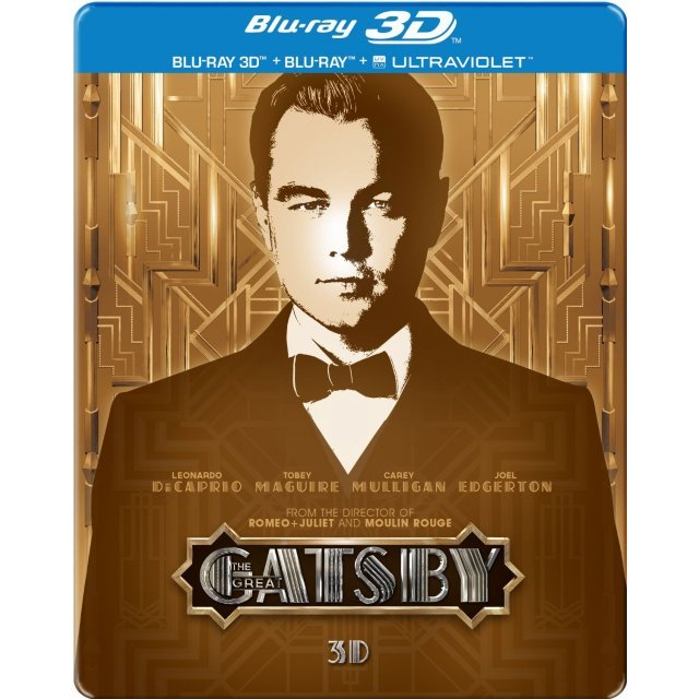 The Great Gatsby 3D [Limited Edition Steelbook]