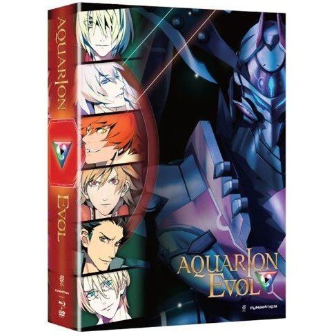Aquarion Evol: Part 1 [Blu-ray+DVD Limited Edition]