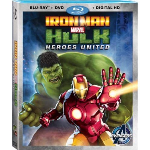Iron Man & Hulk: Heroes United [Blu-ray+DVD+Digital Copy]
