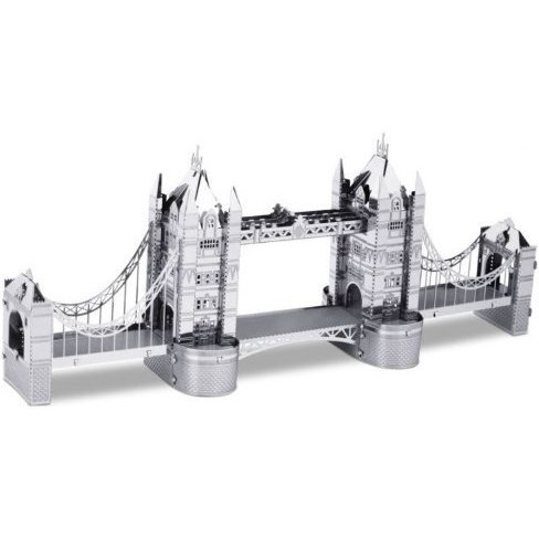 Metallic Nano Puzzle: Tower Bridge