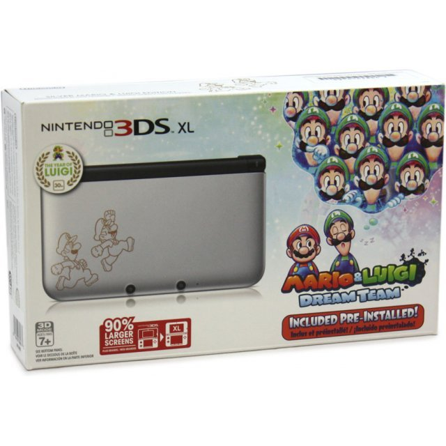 Nintendo 3DS XL (with Mario & Luigi: Dream Team Pre-Installed)
