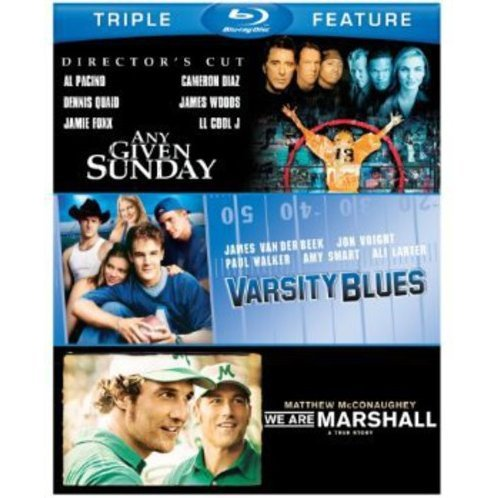 Varsity Blues / Any Given Sunday / We Are Marshall