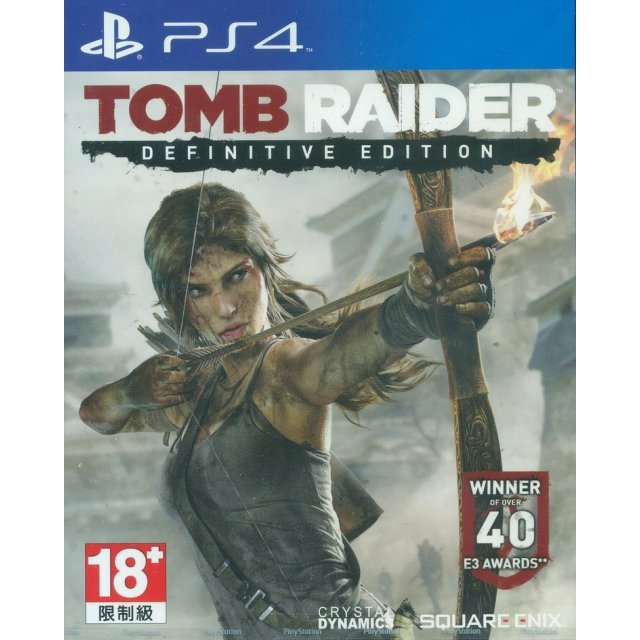 Tomb Raider Definitive Edition (Chinese + English Version)