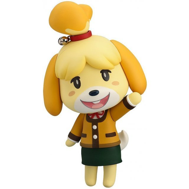 Nendoroid No. 386 Animal Crossing: New Leaf Shizue (Isabelle) Winter Ver. (Japan Version)