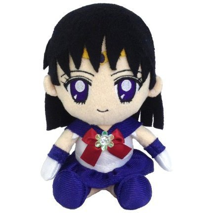 Sailor Moon Mini Plush Doll: Sailor Saturn (Re-run)