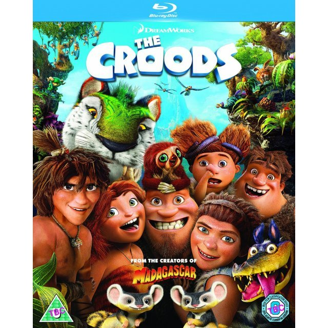 The Croods [Blu-ray+Digital Copy+UltraViolet]