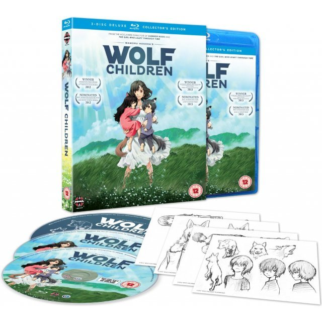 Wolf Children Ame and Yuki [Blu-ray+DVD]