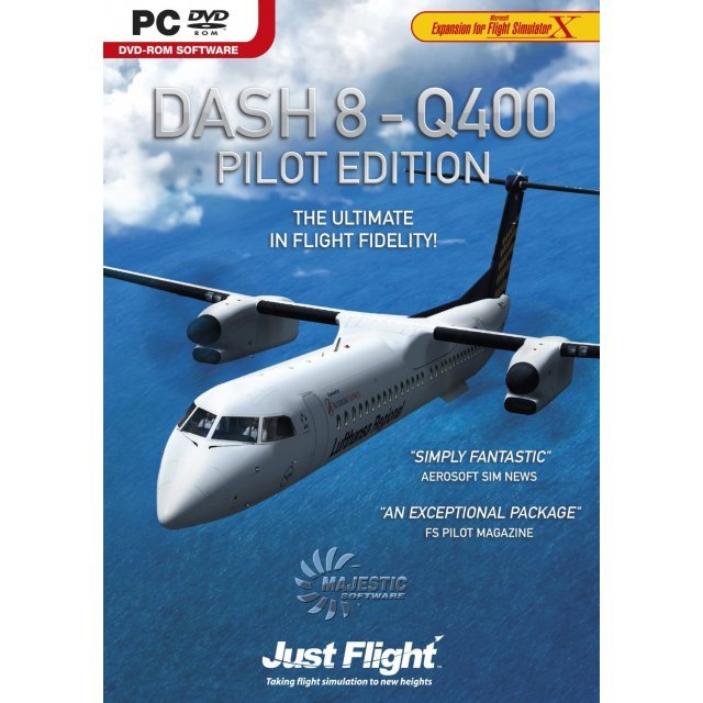Dash 8 - Q400 Pilot Edition for FSX (DVD-ROM)