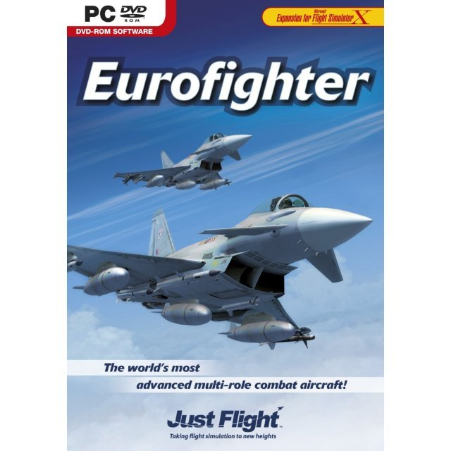 Eurofighter Typhoon for FSX (DVD-ROM)