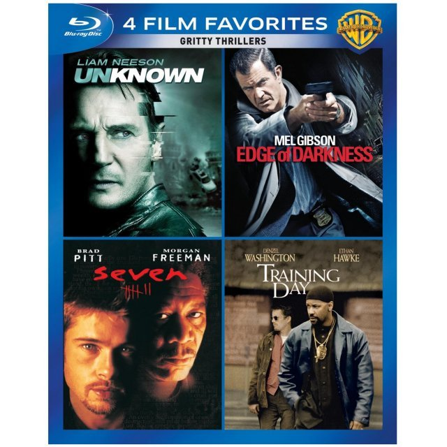 4 Film Favorites: Gritty Thrillers Collection