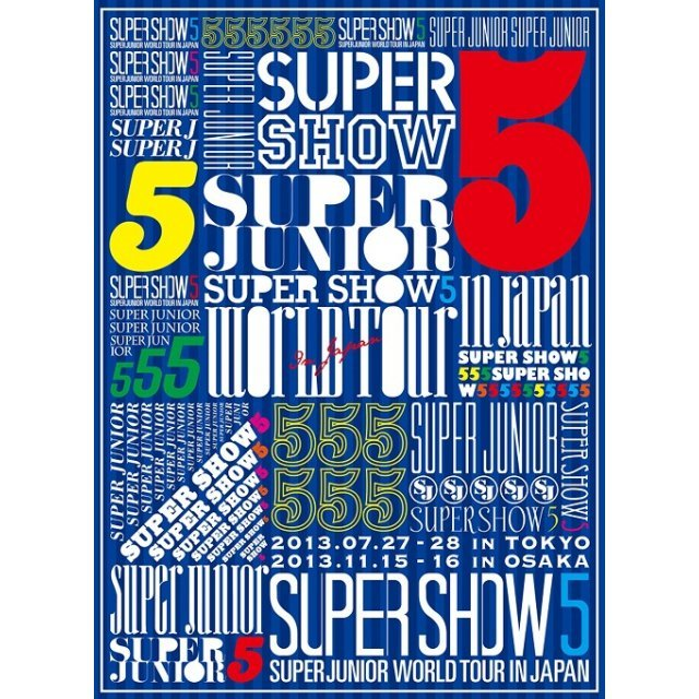 World Tour Super Show 5 In Japan [Limited Edition]