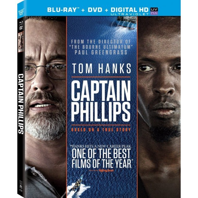 Captain Phillips [Blu-ray+DVD+UltraViolet]